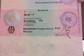 The result: a paper residence permit, soon to be replace by a real card with a picture!