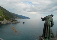 At a monastery above Monterosso